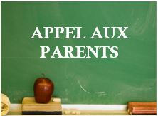 appel aux parents